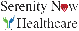 Serenity Now Healthcare Retina Logo